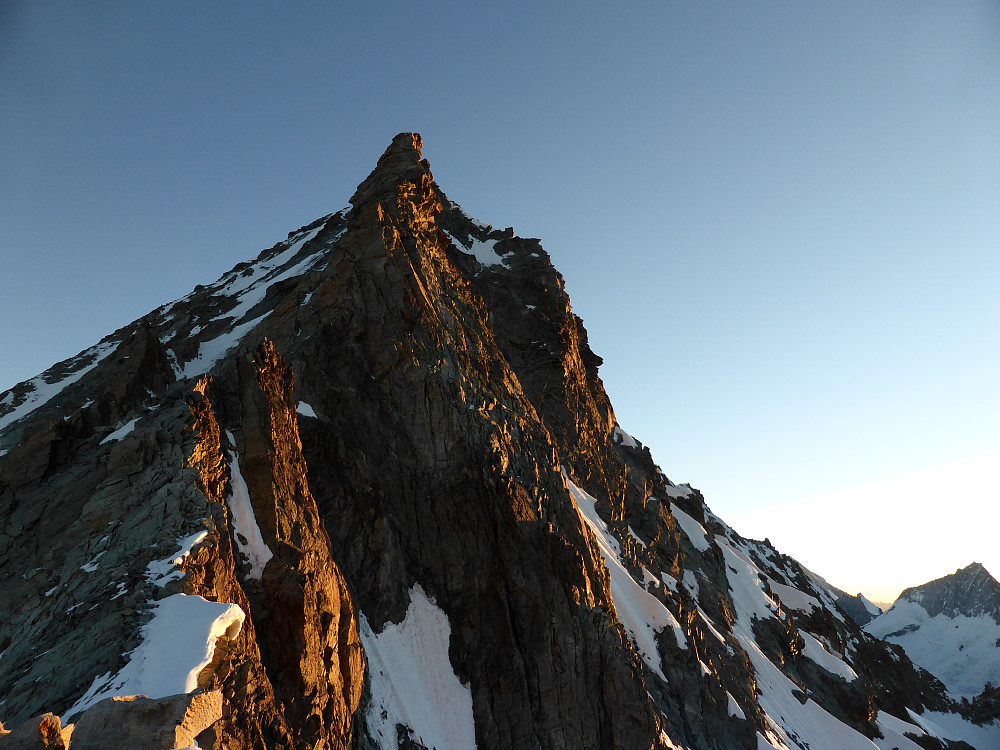 The south ridge of the Dent Blanche