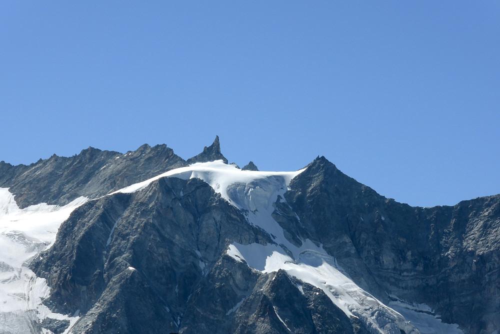Aiguille de la Tsa - we climbed that!
