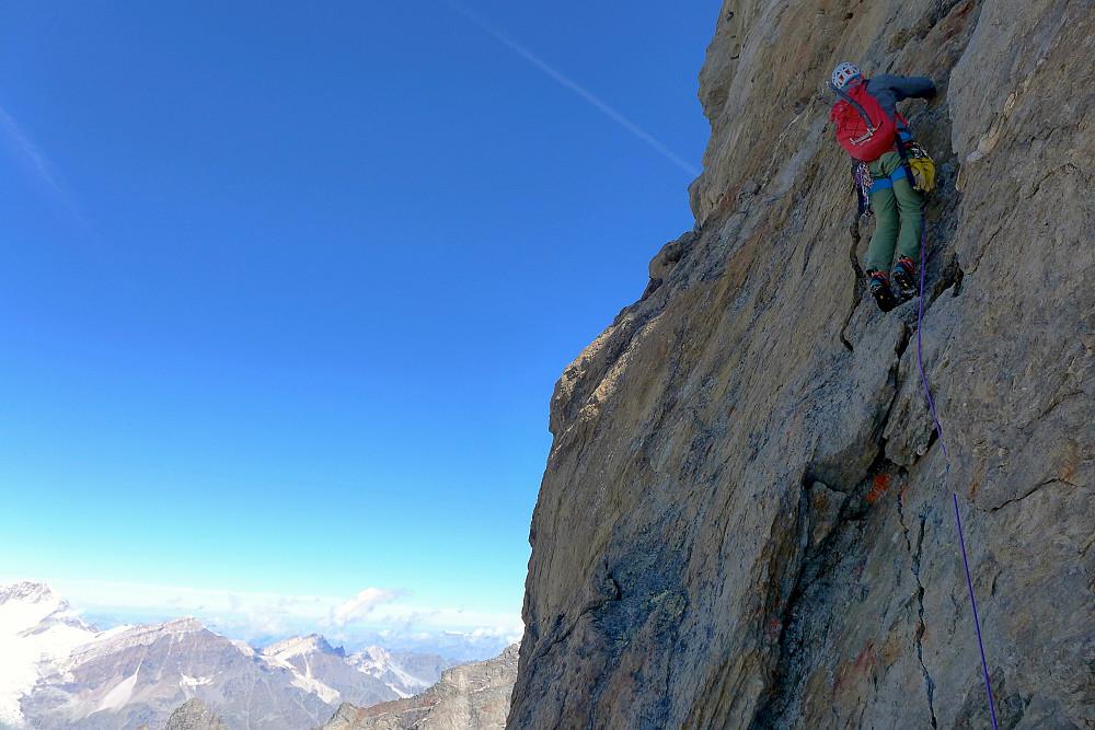 More nice climbing