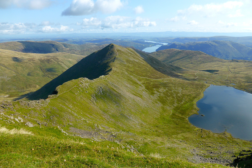 Swirral Edge og Red Tarn