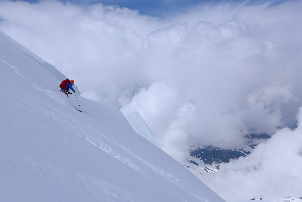 Maipudder i Alpene er ikke så ille :)