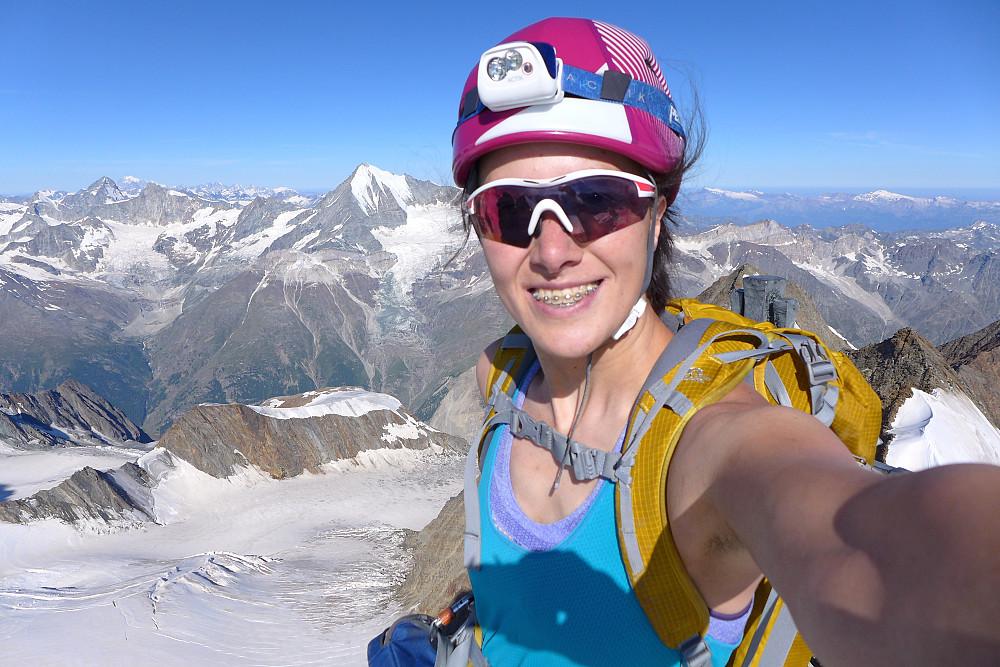 Yet another summit selfie