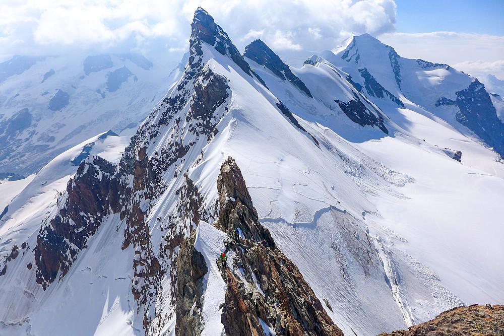 Two climbers on the ridge #2