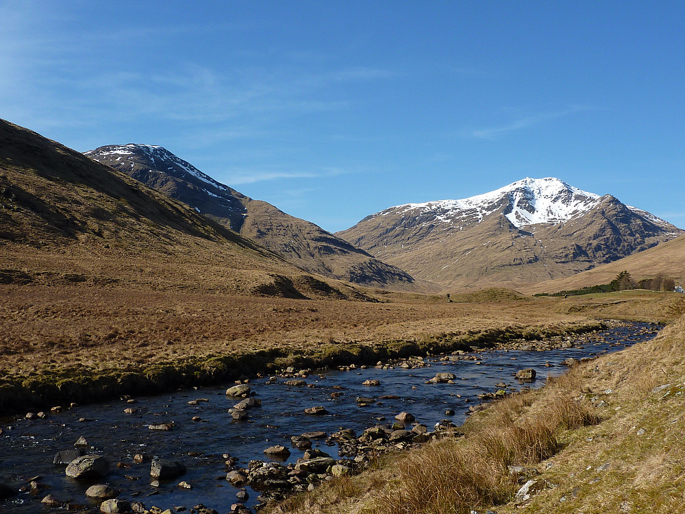 Ben Lui and the Cononish river