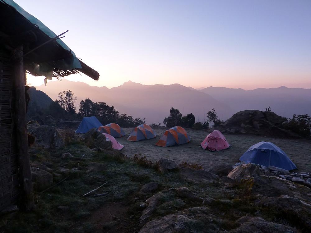 Camp at Chalem Kharka
