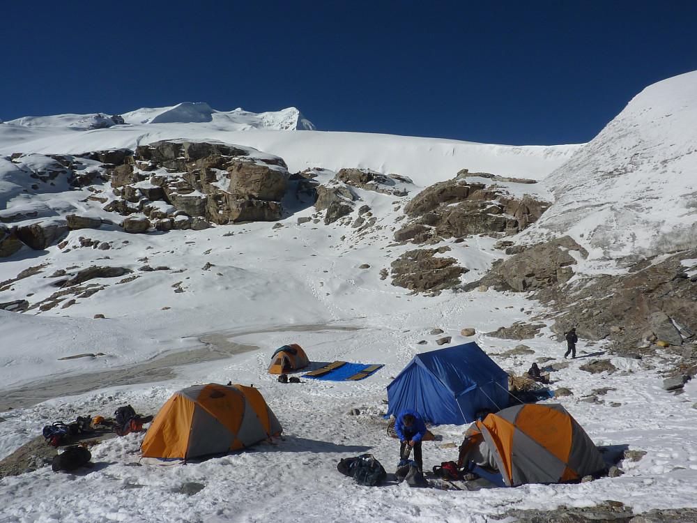 Mera Peak base camp