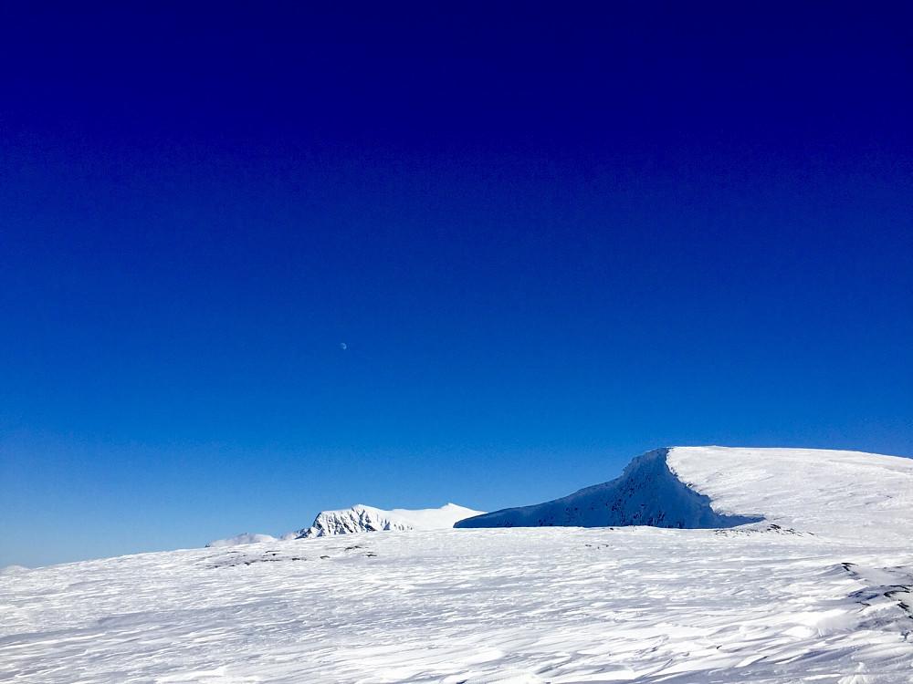 Siste del av vestryggen mot Snaufjellet