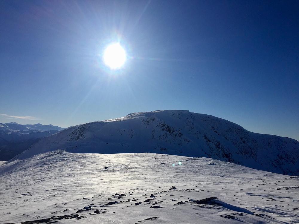Snaufjellet sett fra Koldafjellet