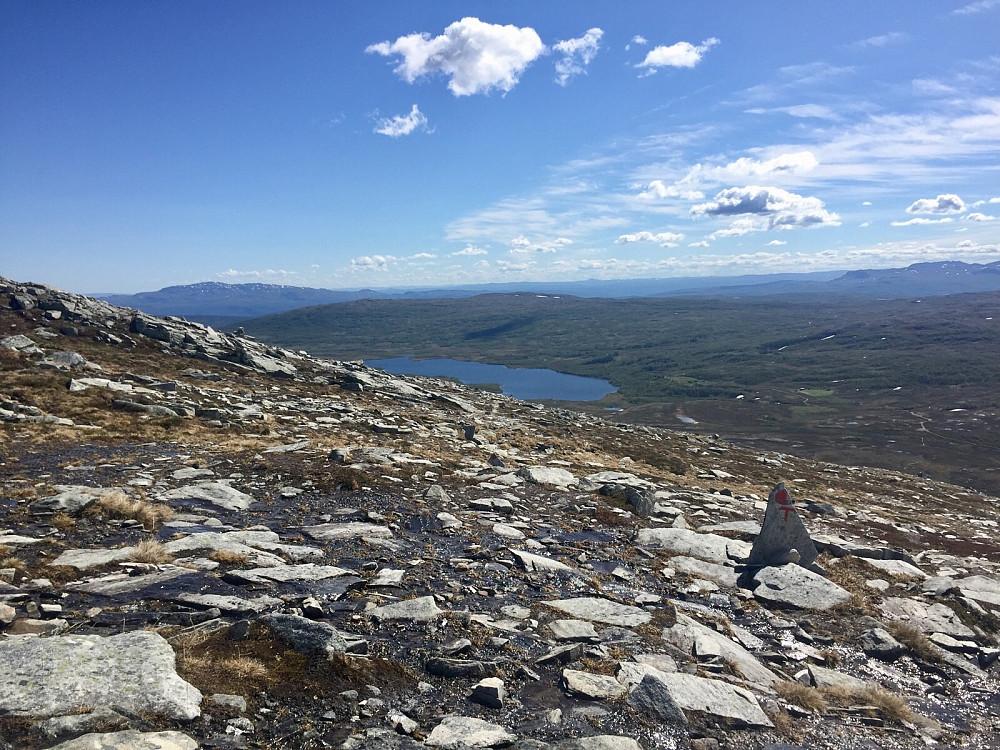 Oppgangen over Langfjellet