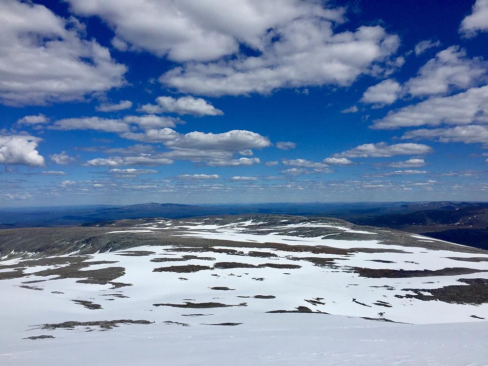 Returen over Langfjellet, som faktisk er noget lang :-)