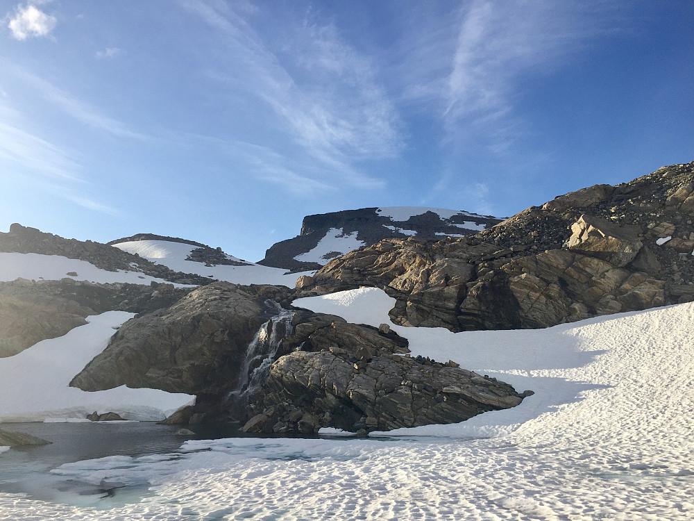 Nydelig område ned mot indre Haudukvatnet igjen