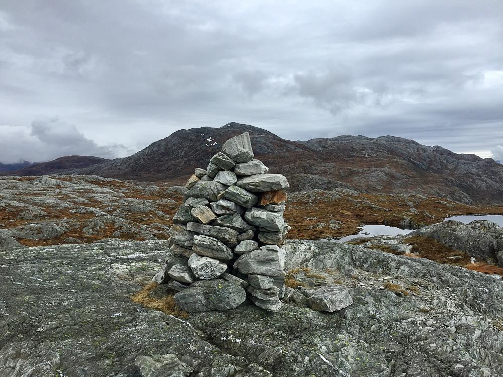 Fra Skålefjell mot Skrevarden