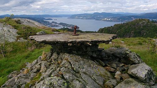 The summit of Skjenafjellet