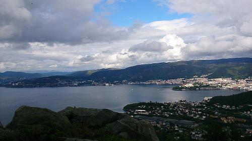 View northeast from Ørnafjellet