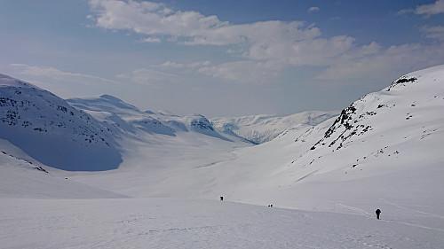 Looking back down Slettedalen