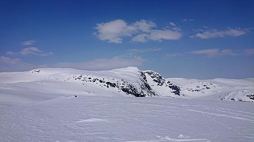 View towards Skarsnosi from the 1327 peak