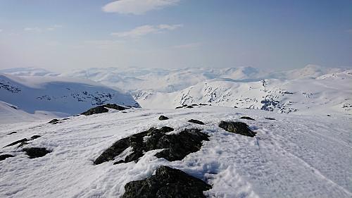 Fetanipa. View towards Slettedalen.