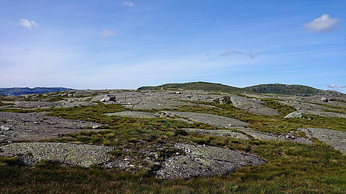 Summit area of Huldabottsfjellet