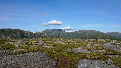 View toward Iendafjellet from Huldabottsfjellet