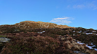 Final ascent to Tysnessåta