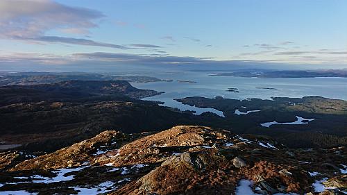 Northwest from Tysnessåta