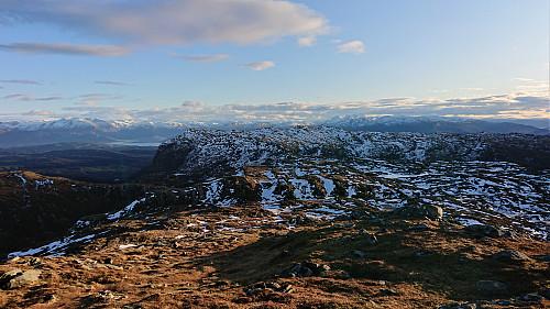 Etlådnefjellet from Tysnessåta