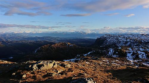Southeast from Tysnessåta