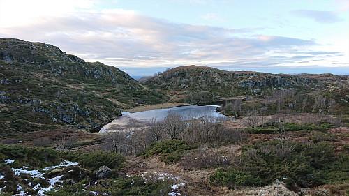 Nordsta Stødvatnet from the descent