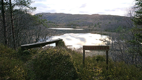Viewpoint below Huldastølen