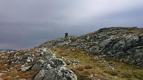 The cairn at Kattøyro