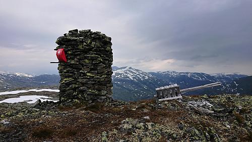 Northwest from Kattøyro with Vangsen in the background
