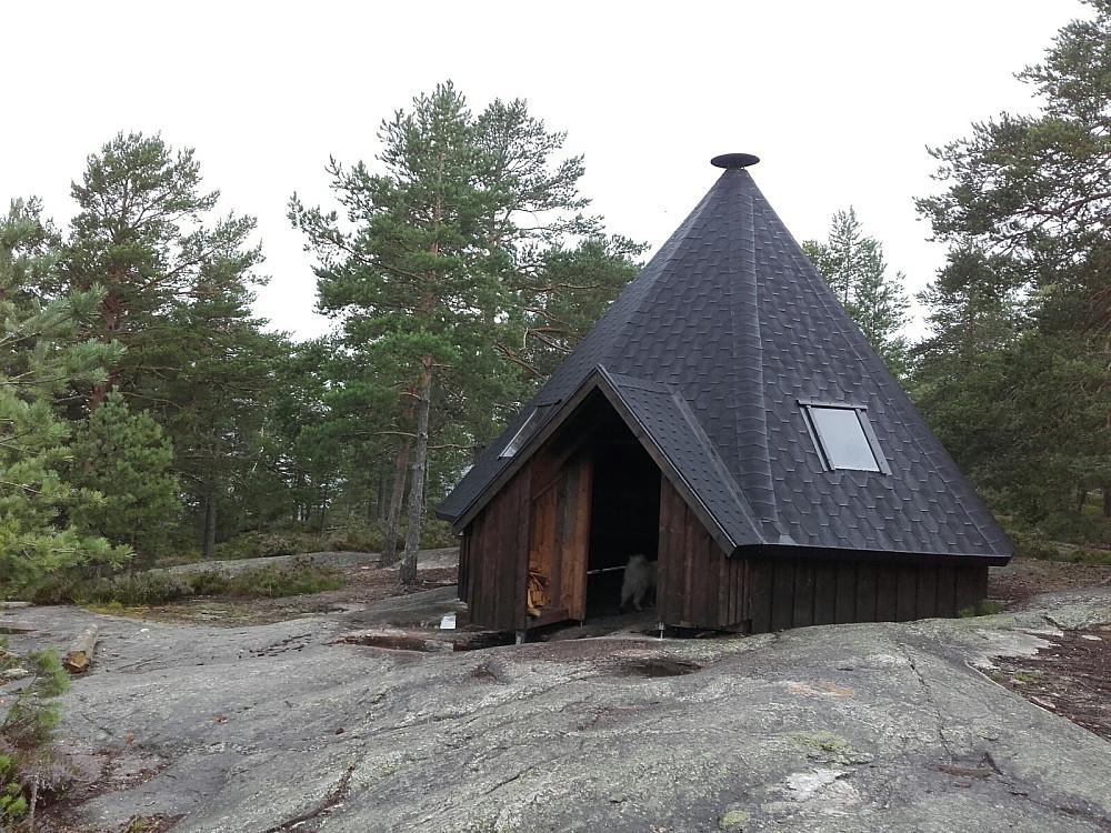 Gapahuken i toppområdet