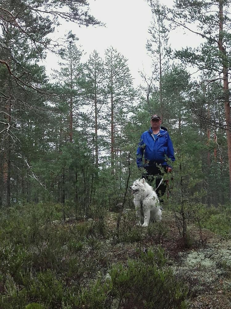 Øyvind og Anjing på toppen