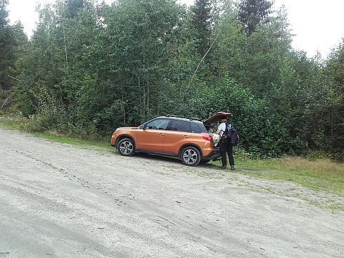 Parkeringslomma