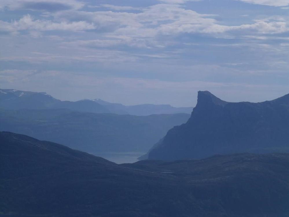 Hornelen - Nord-Europas høyeste sjøklippe.