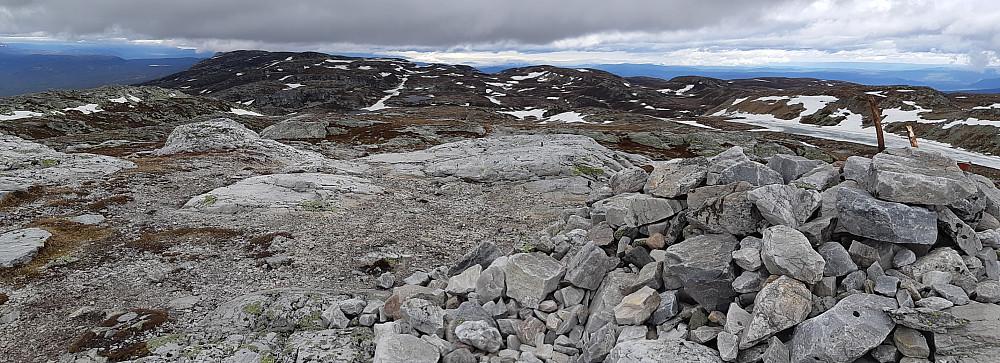 Storslagen utsikt fra Bletoppen.