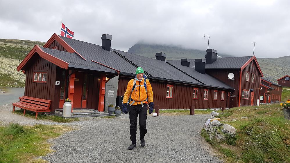Turen startet og sluttet ved Rondvassbu.