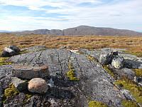 Toppen av Snusvola med Hyllfjellet bak