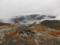 Toppvarden på Sølvbergklumpan
