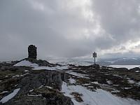 Varden på Gråvola er høyeste punkt, trigpunktet ligger ni meter bortom
