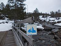 Bru for snøscooter