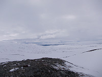 Utsikt fra topplatået på Merraskardfjellet