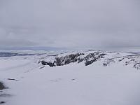 Ved toppen av Merraskardfjellet