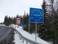 Grensen til Sverige