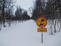 Karl Johansvegen er bomvei med stengt bom.