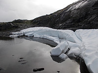 Siste rest av snø