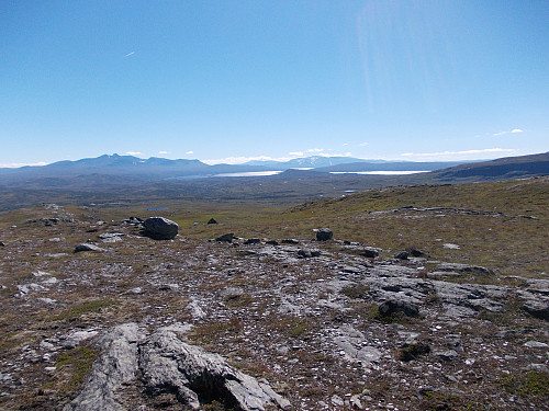 Utsikt fra Blåhåmmårkleppen mot Sylan