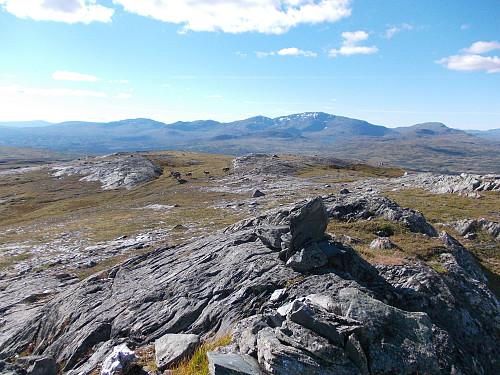 Utsikt fra Blåhåmmåren mot Sylan