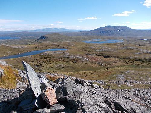 Utsikt fra Sankåkleppen mot Øfjellet