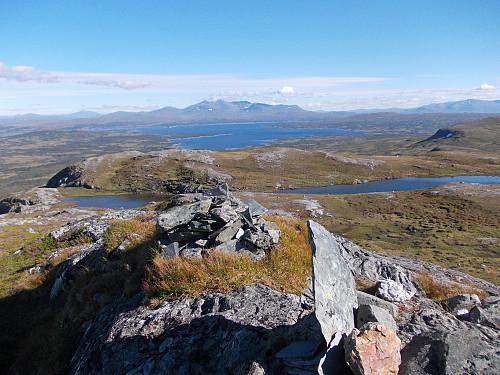 Utsikt fra Sankåfjellet mot Sylan